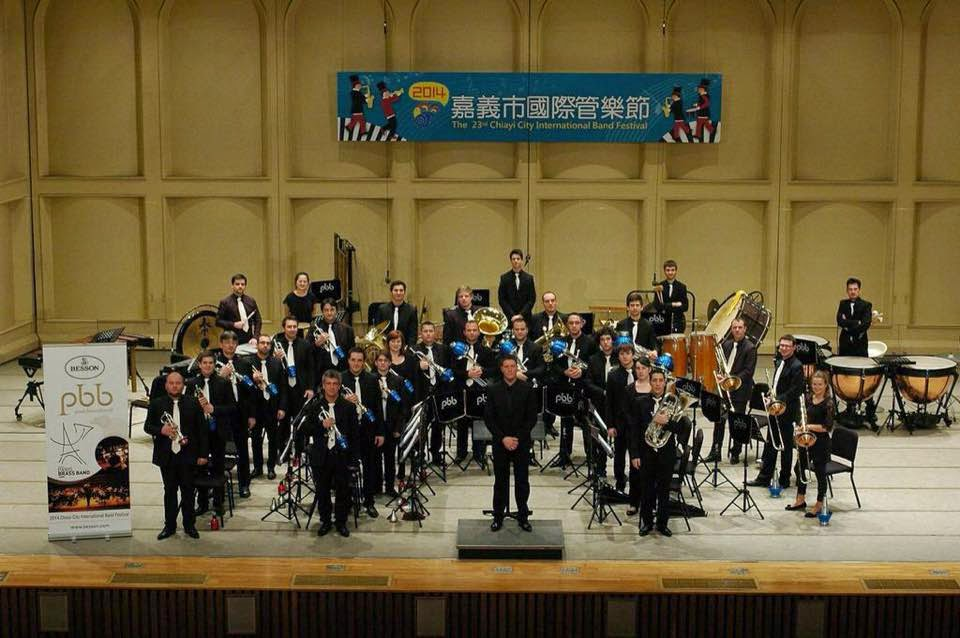 With Paris Brass Band, Taiwan